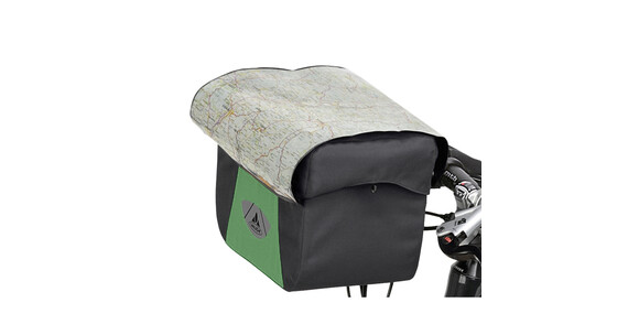 VAUDE Discover Box Bike Pannier green/black